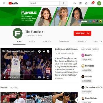 Youtube: The Fumble