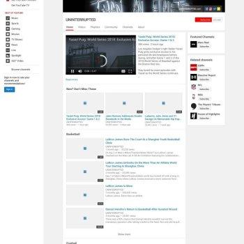 Youtube: Uninterrupted