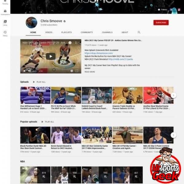 Youtube: Chris Smoove
