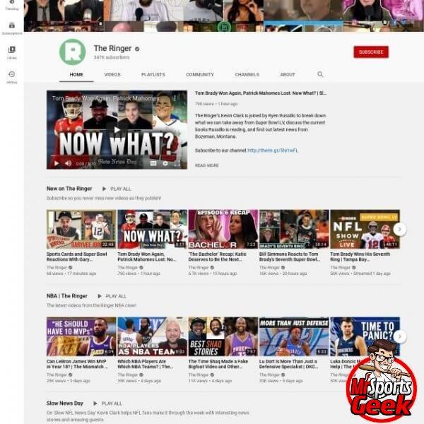 Youtube: The Ringer