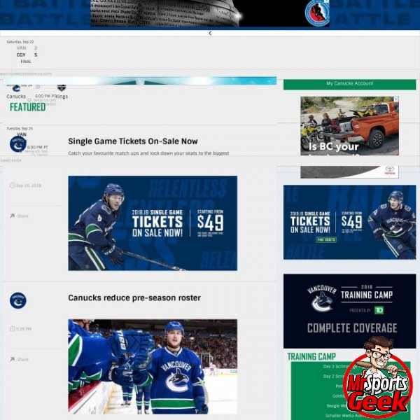 Vancouvers Canucks