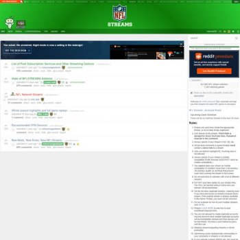 NFL Streams