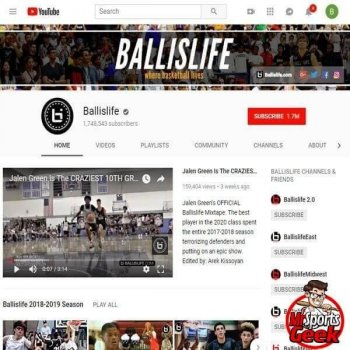 Youtube: Ballislife