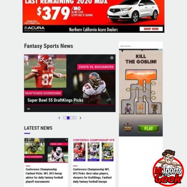Sporting News Fantasy