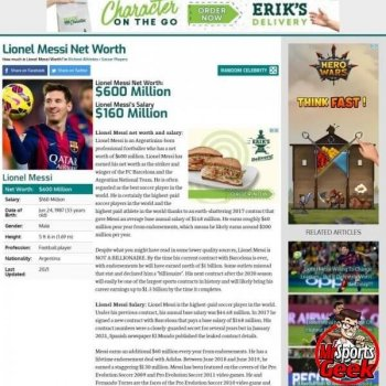 Lionel Messi (Soccer)