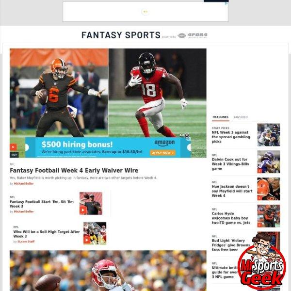 Sports Illustrated Fantasy