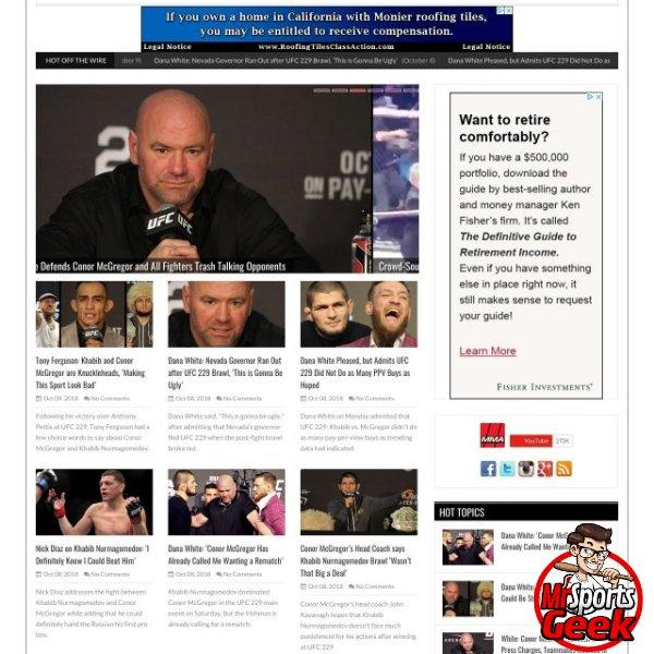 MMA Weekly