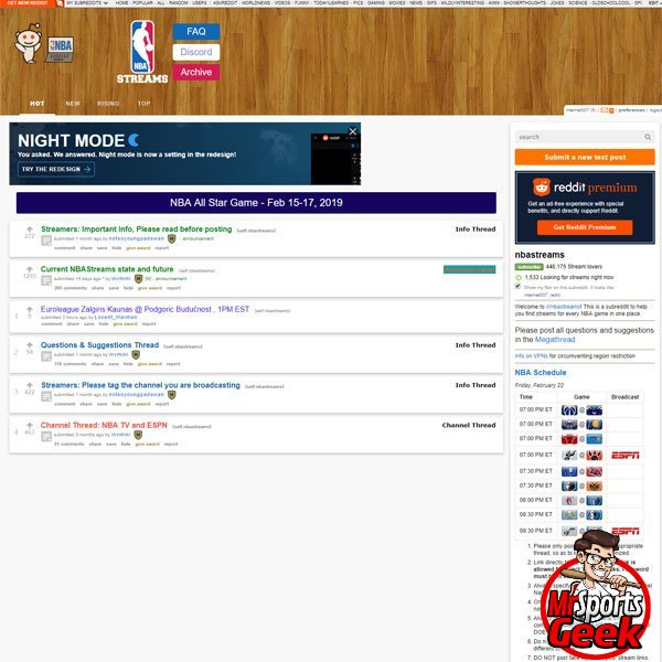 NBA Streams