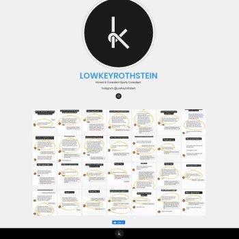 Lowkeyrothstein
